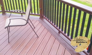 Washington Township MI Deck Builder Trex Composite Fire Pit LED Lighting