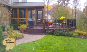 Orion Twp MI Porch Builder Trex Transcends Custom Railing