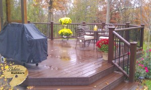 Oakland Twp MI Porch Builder Trex Transcends Custom Railing