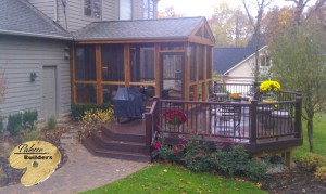Clarkston MI Porch Builder Trex Transcends Custom Railing