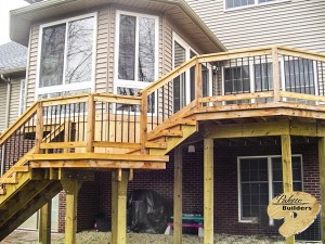 Brandon Twp MI Porch Builder Trex Transcends Cedar Porch