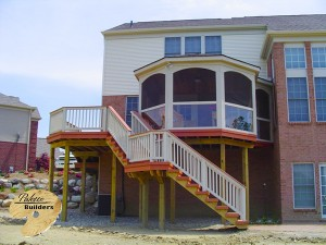 Independence Twp MI Porch Builder Trex Transcends Cedar Porch