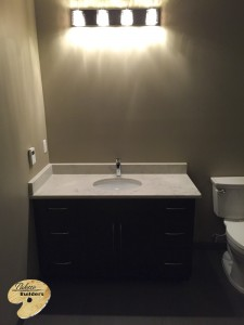 Orion Twp MI Finished Basements Custom Sink