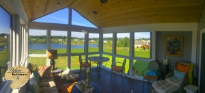 Clarkston MI Porch Builder Trex Transcends Glass Windows