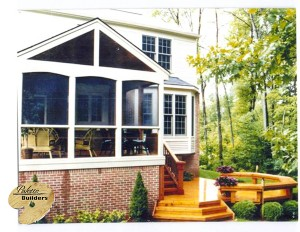 Oxford MI Porch Builder Trex Transcends Custom Porch and Cedar Wood Deck