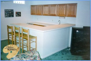 Independence Twp MI Finished Basements Custom Bar