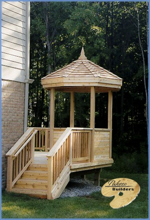 Orion Twp MI Gazebo/Pergola Builder Custom Wooden Decking