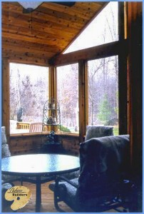 Independence Twp MI Porch Builder Trex Transcends Glass Windows